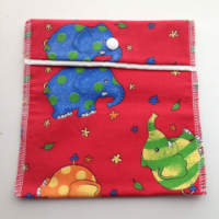 Elephant Pouch or Snack Pack with Procare Lining