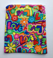 Lined Love Zipper Pouch or Snack Pack