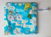 Lined Eco Friendly Zipper Pouch or Snack Pack