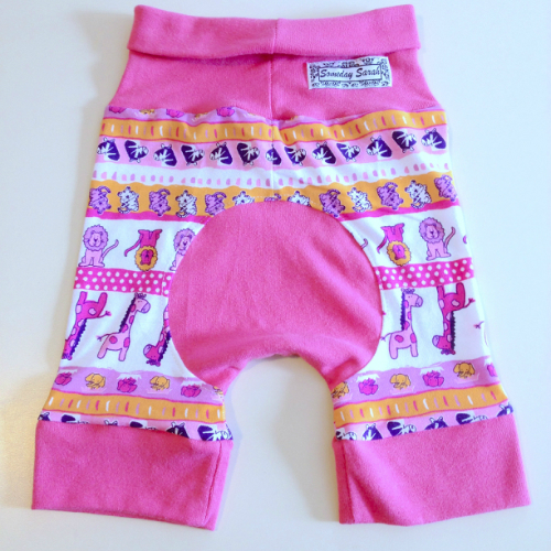 Pink Zoo Shorts Jecaloones - Size 1 - 1-3 years