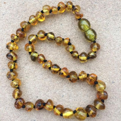 "<u>SALE! Kids 11.5-12.5""<br>Polished Rustic Necklace</u>"