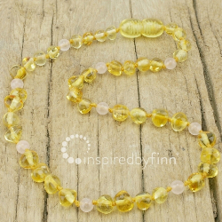 <u>Polished Yellow Rose Quartz</u>