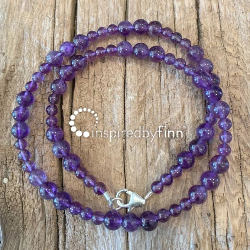 <u>NEW! Amethyst - Protection and Purification</u><br>Kids Necklace