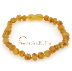 <u>SALE! Select Sizes - Baltic Amber Clasped Bracelet - Adult/Adolescent Unpolished Harvest</u>