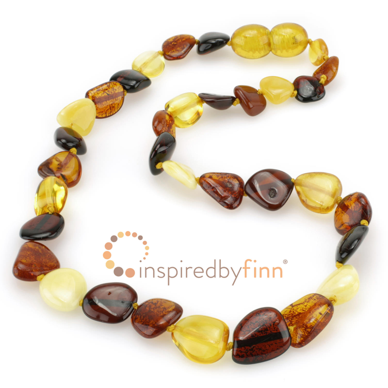<u>BEAN Polished Four Colors of Amber</u>