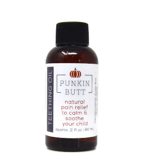 <u>NEW ITEM!  Punkin Butt Organic Teething Oil</u>