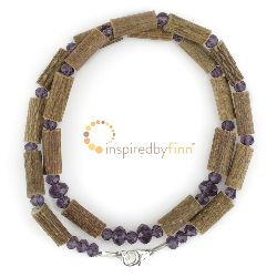 <u>Sparkling Purple Hazel Necklace</u>