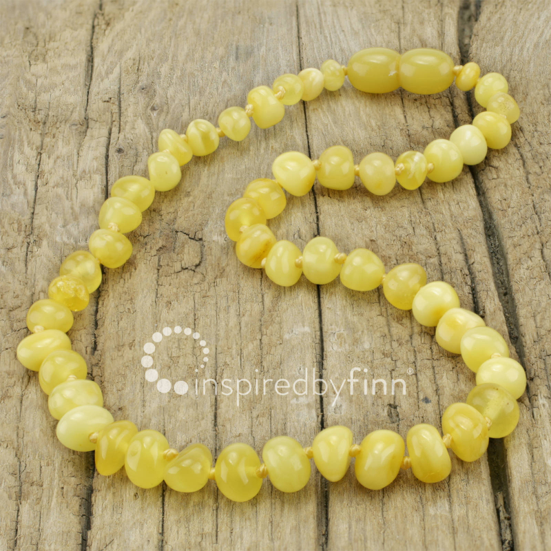 <u>Polished Butter<br></u>Kids Baltic Amber Wellness & Teething Necklace