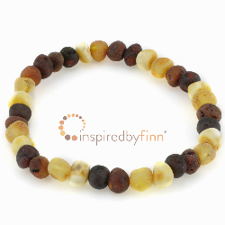 <u>Elastic Bracelet<br>Unpolished Diversity<br>Larger Beads</u>