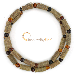 "<u>SALE! Kids & Adult sizes 10.5 - 22"" - Polished Baltic Amber & Hazel - Honey & Dark Cherry</u>"