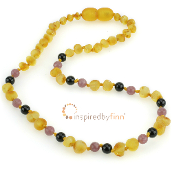 <u>NEW Adult Necklace! Harvest Baltic Amber + Curbs Hyperactivity & Attn Deficit, Improves Focus</u>