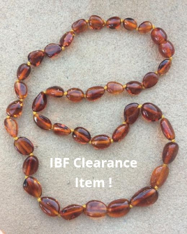 <u>CLEARANCE! Polished Cognac Bean</u>