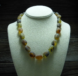 <u>Baltic Amber Necklace - Unpolished Sea Amber</u><br>$59.97 w/ discount code: 25