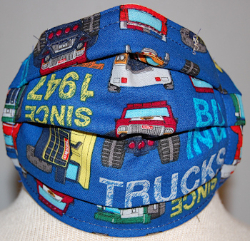 Approved Face Mask Youth/Adult- Tonka Trucks