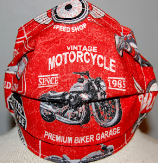 Face Mask Youth/Adult- Vintage Cyles #1