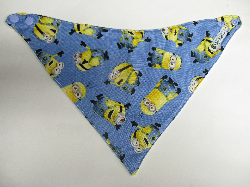SALE! Minion Blue - Bandana Dribble Bib