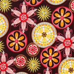 "3.1yds x 54"" Michael Miller Carnival Bloom - PUL fabric"