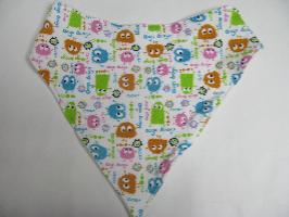 SALE! Ooga Booga knit - Bandana Bib