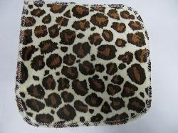 Cheetah Minky/Sherpa Wipe
