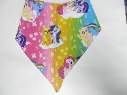 SALE! My Little Pony Rainbow - Bandana Bib