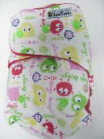 Pink Ooga /w fushcia cotton velour - T&T multi-size