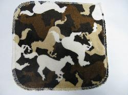 Horses Minky/Sherpa Wipe