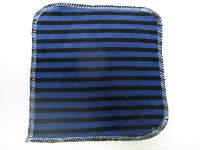 Blue Stripe Velour/Velour Wipe