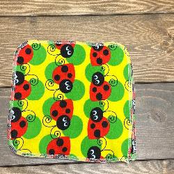 Ladybugs/Velour Wipe