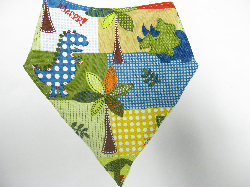 SALE! Dino Blocks - Bandana Bib