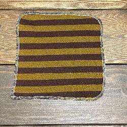 Chocolate Stripe/Velour Wipe