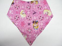 SALE! Frozen Pink Sparkle - Bandana Bib