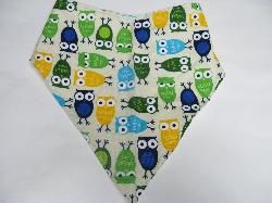 SALE! Owls - Bandana Bib