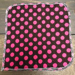 Pink Dot/Velour Wipe