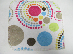 Circles Minky/Sherpa Wipe