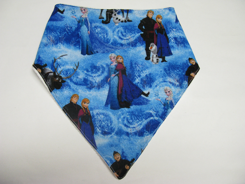 SALE! Frozen Blue Family - Bandana Bib
