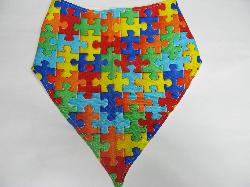 SALE! Puzzle - Bandana Bib