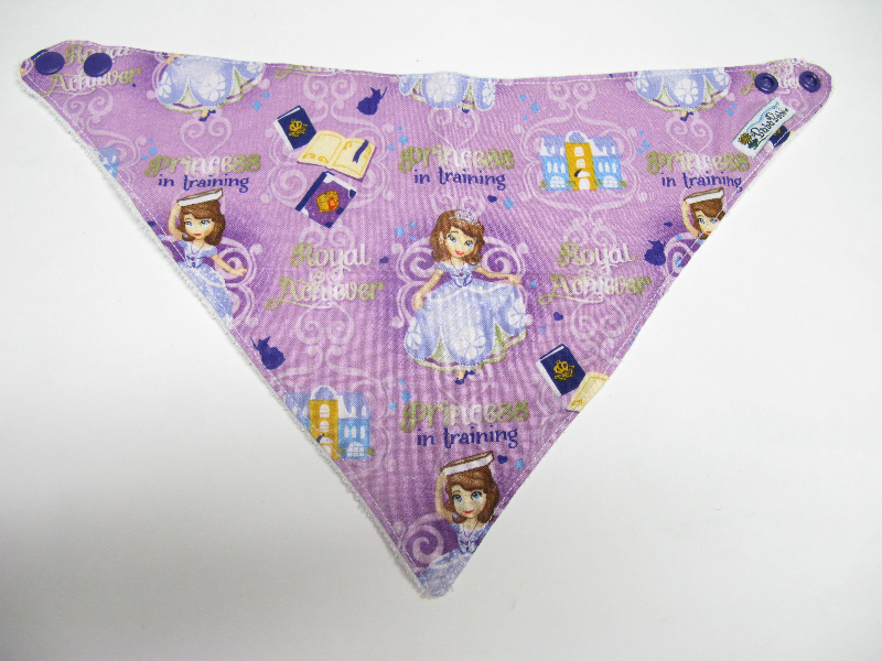 SALE! Sophia the First Princess in Training - Bandana Dribble Bib
