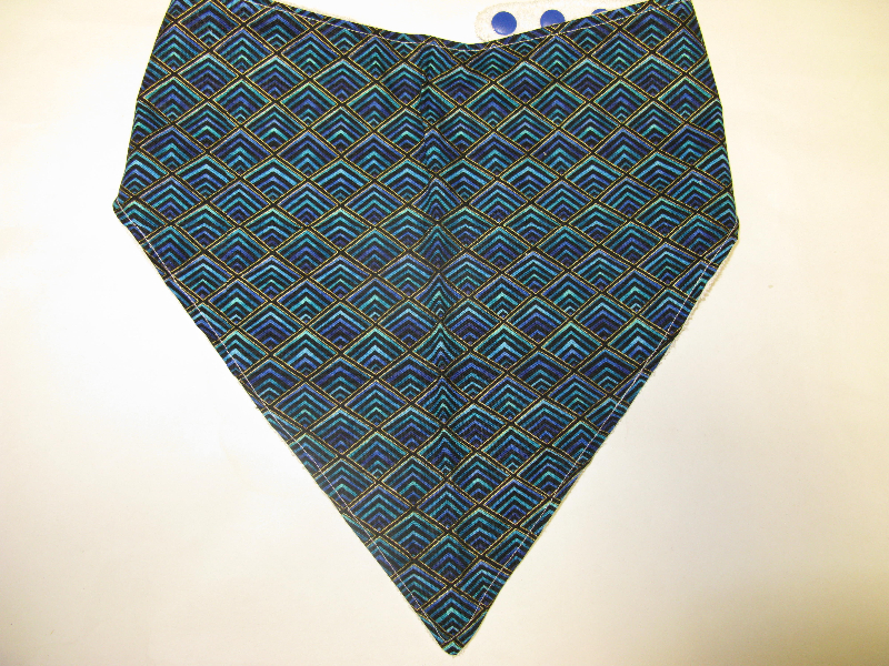 SALE! Diamond Geo - Bandana Bib