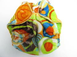 Lime Balloon Party Minky /w lime cotton velour - newborn
