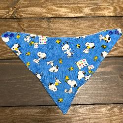 SALE! Blue Snoopy - Bandana Dribble Bib