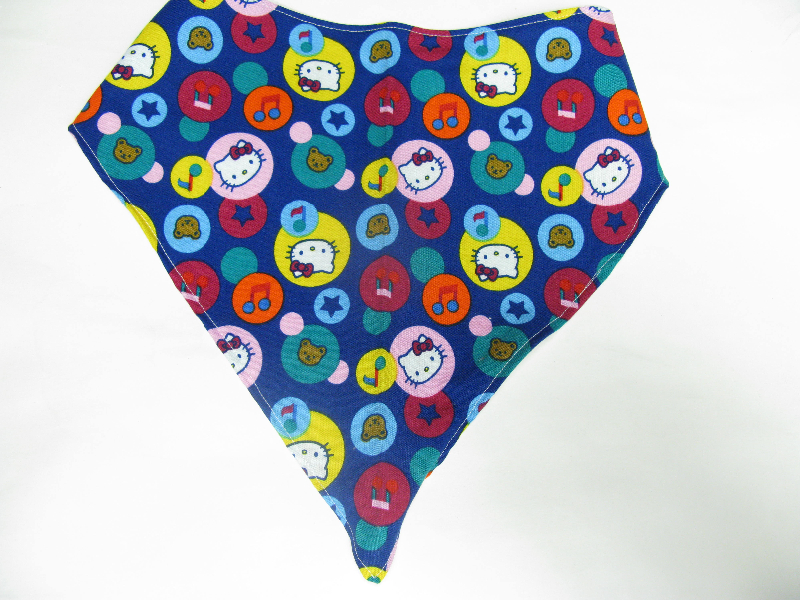 SALE! Hello Kitty Bubbles - Bandana Bib