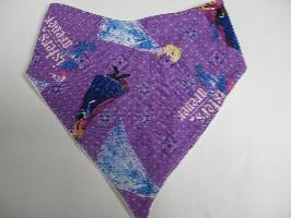 SALE! Purple Frozen - Bandana Bib