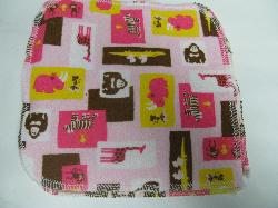 Pink Zoo/Sherpa Wipe