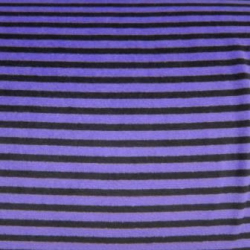 "30"" x 60"" Purple Stripe - Cotton VELOUR fabric"