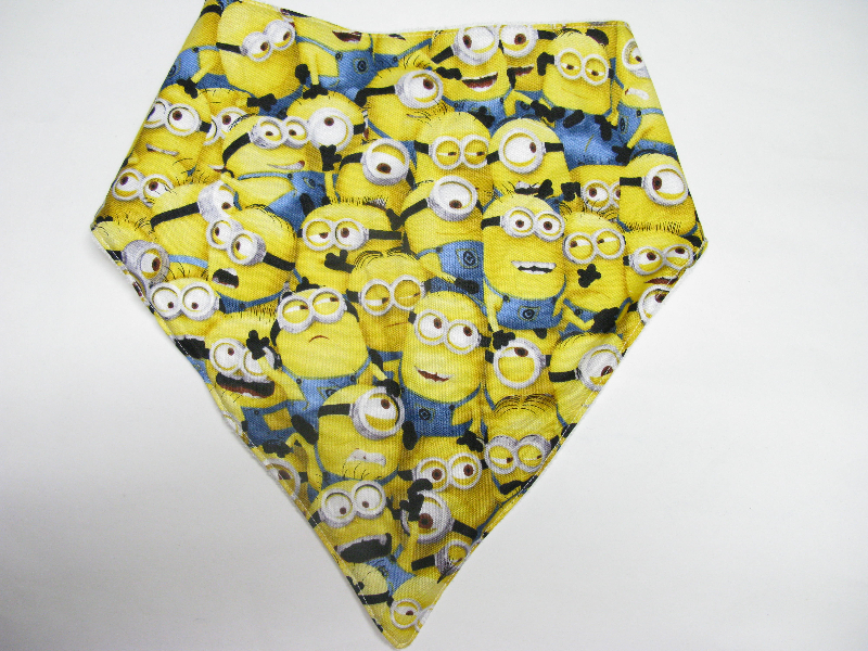 SALE! Minion Faces - Bandana Bib