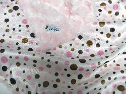 Pink /w pink dot satin - 'Lankie - Regular $20