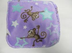 Monkey Minky/Velour Wipe