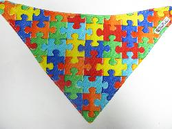 SALE! Puzzles - Bandana Dribble Bib