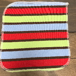 Denim Stripe/Velour Wipe