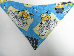 SALE! Minion School - Bandana Dribble Bib